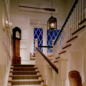Bridgehampton Home Stair