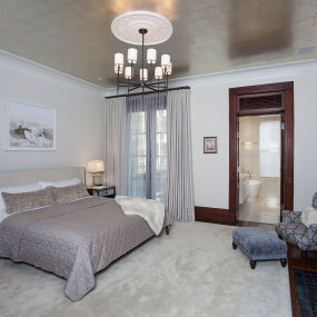 Upper West Side Landmark Townhouse Master Bedroom