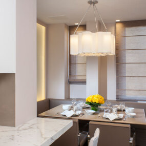 Park Avenue Apartment Dining/Kitchen