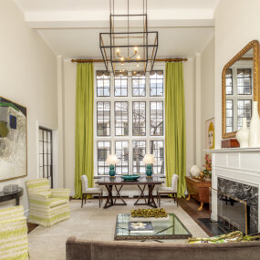 Upper East Side Apartment Living Room