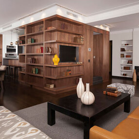 Upper West Side Apartment Living Room