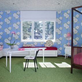 Colorado Mountain Home Kids Room