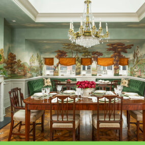 Park Block Townhouse Dining Room