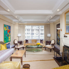 Park Avenue Apartment Family Room