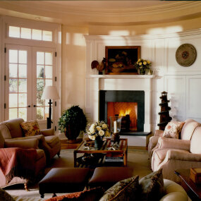 Bridgehampton Home Living Room