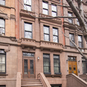 Upper West Side Landmark Townhouse Facade