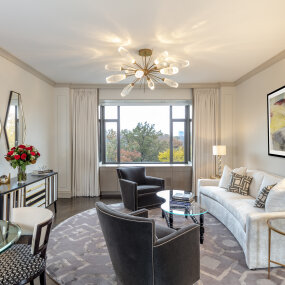 Central Park South Living Room