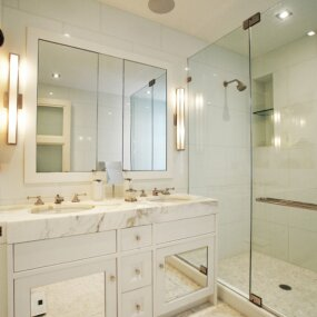 Carnegie Hill Apartment Master Bath