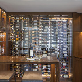 Lincoln Square Apartment Wine Cellar