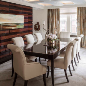 Exclusive Park Avenue Residence Dining Room