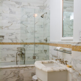 Park Ave Full Floor Apartment Bathroom