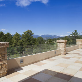 Colorado Mountain Home Terrace