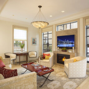 West End Avenue Pied-e-Terre Living Room