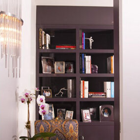 Carnegie Hill Apartment Bookcase