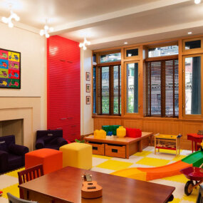 Park Block Townhouse Playroom