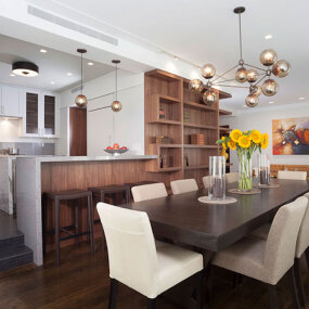 Upper West Side Apartment Dining Room