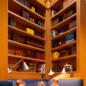 Park Block Townhouse Bookcase / Kids Room