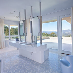 Colorado Mountain Home Bathroom