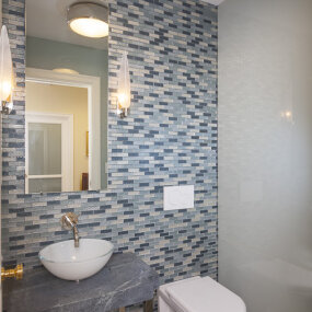 Park Avenue Apartment Bathroom