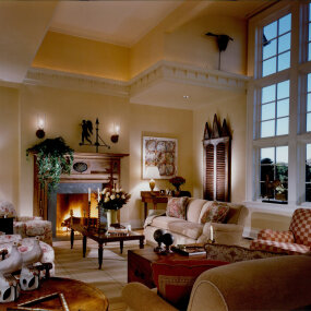 Bridgehampton Home Family Room