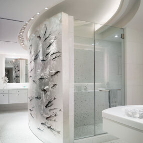 Exclusive Park Avenue Residence Master Bath