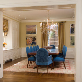 Park Avenue Full Floor Apartment Dining Room