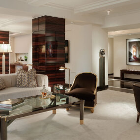 Exclusive Park Avenue Living Room