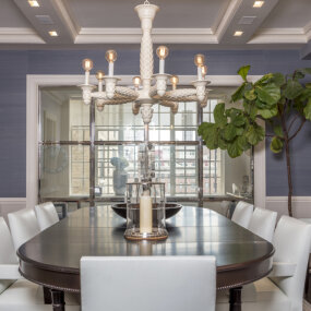 Upper East Side Residence Dining Room