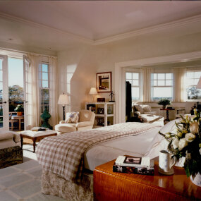 Bridgehampton Home Master Bedroom