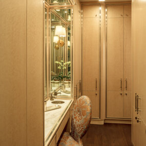 Upper East Side Apartment Dressing Room