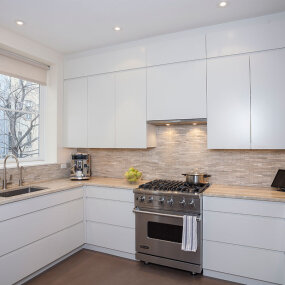 Upper West Side Landmark Townhouse Kitchen